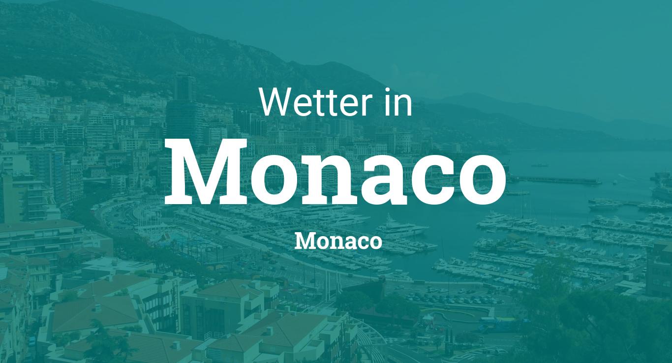 Wetter Monaco 14 Tage
