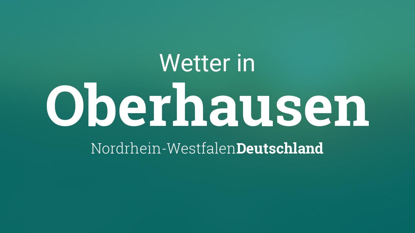 Wetter Oberhausen Heute