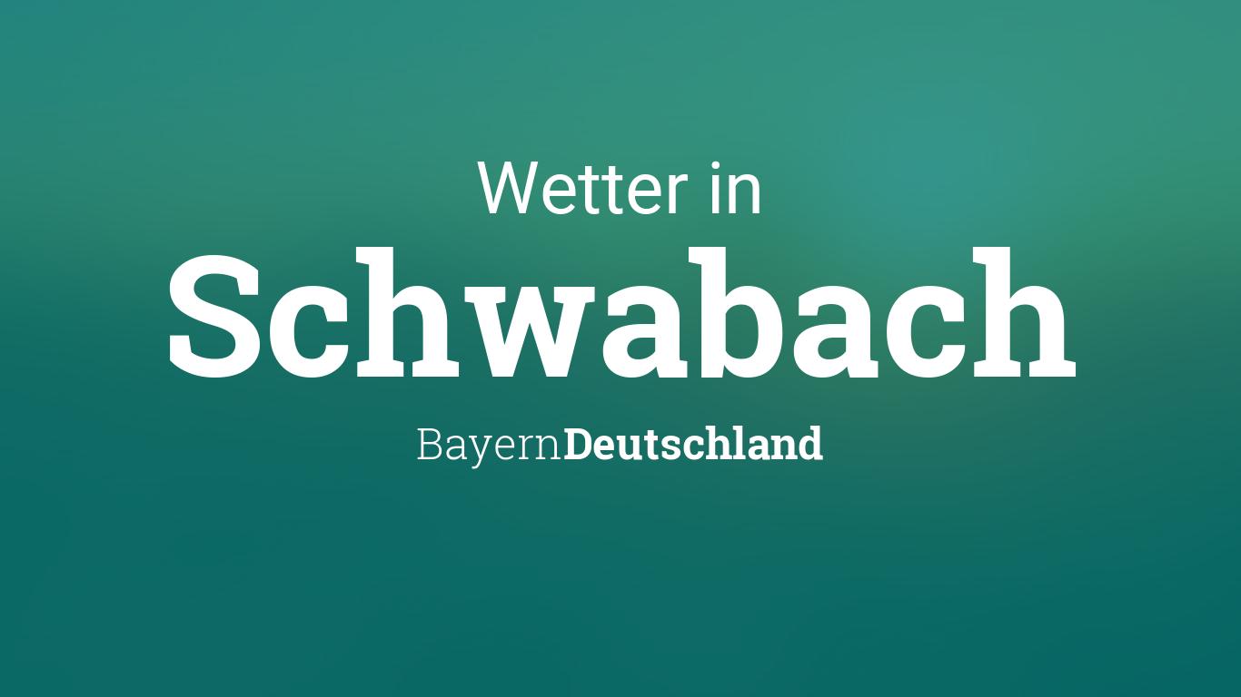 Wetter Schwabach Heute
