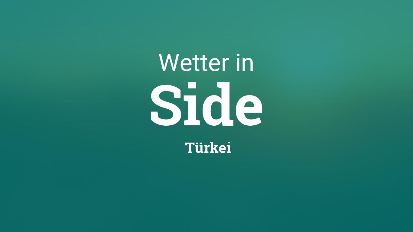 Www.Wetter Side Türkei
