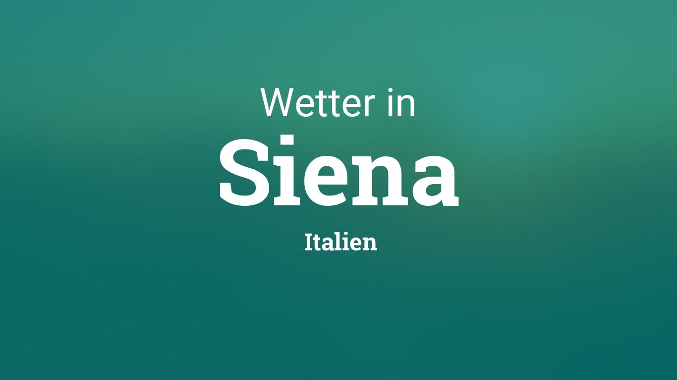 Wetter Siena