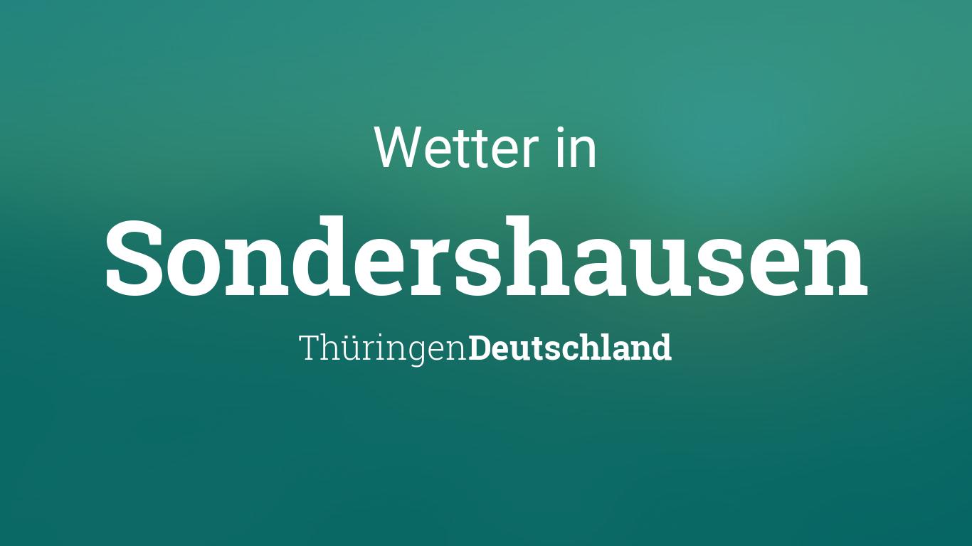 Wetter Sondershausen