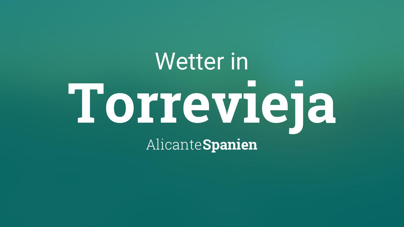 Wetter Torrevieja