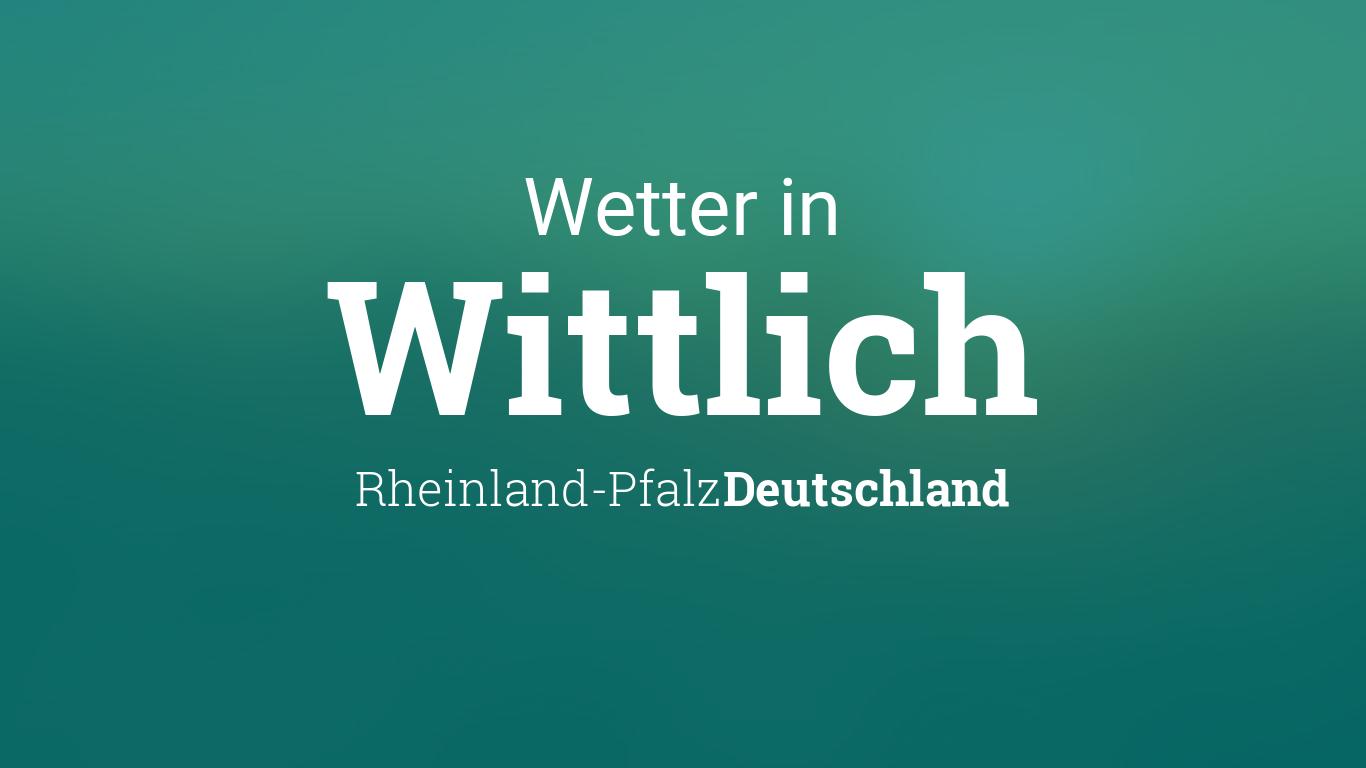 Wettervorhersage Wittlich