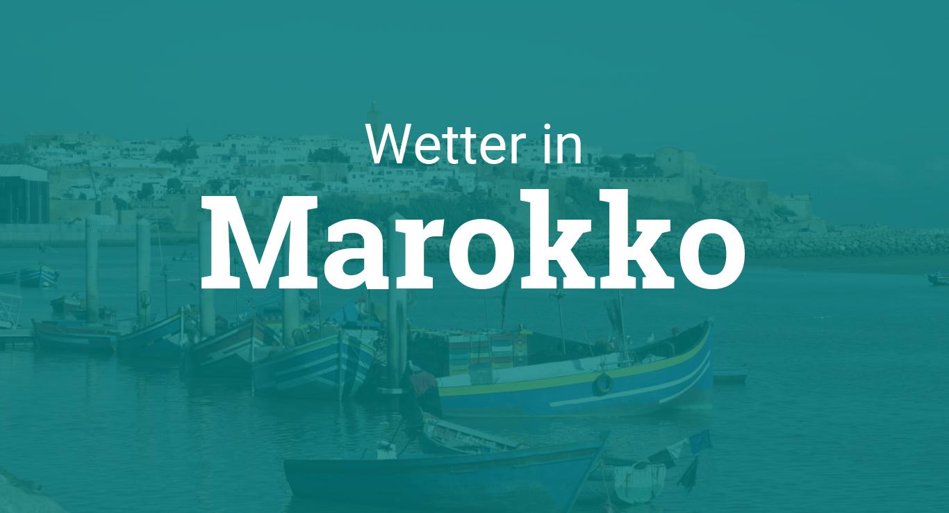 Wetter Marokko
