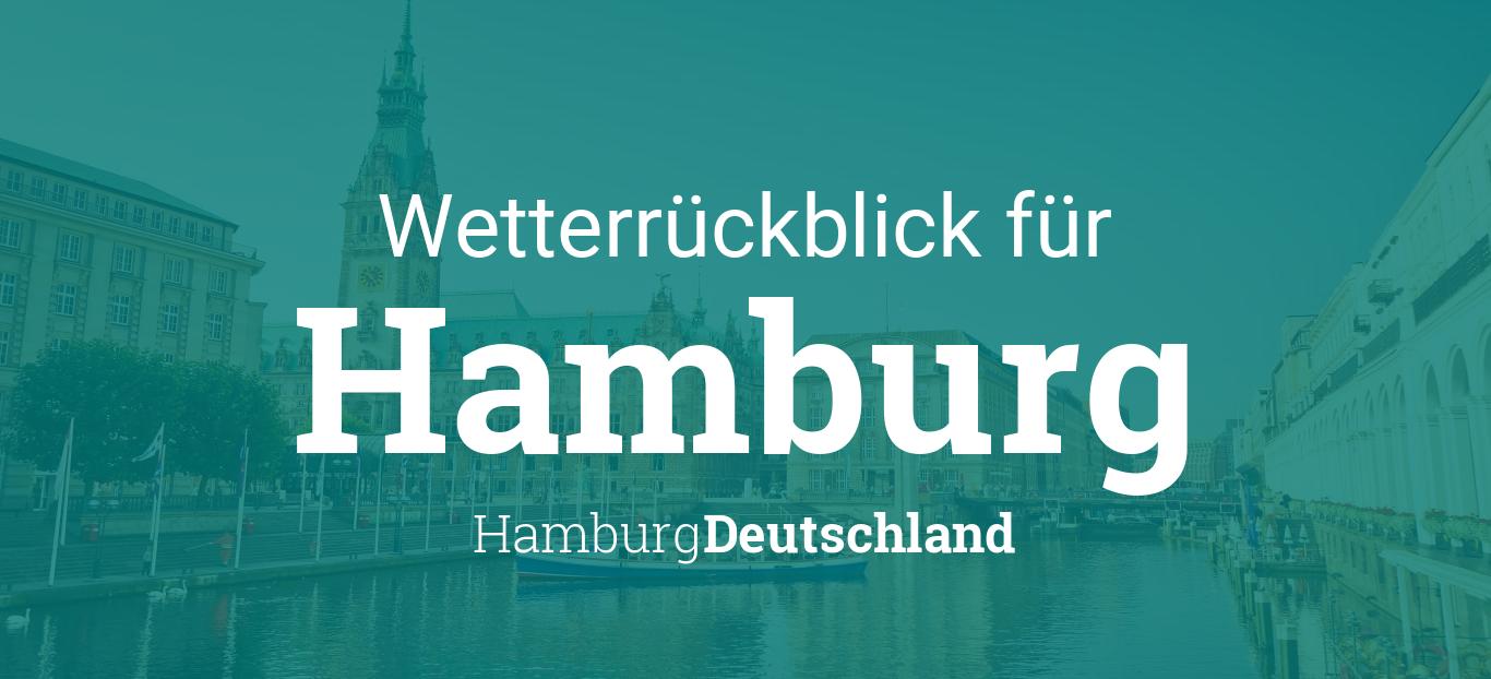 Wetterruckblick Hamburg Hamburg Deutschland Wetter Gestern