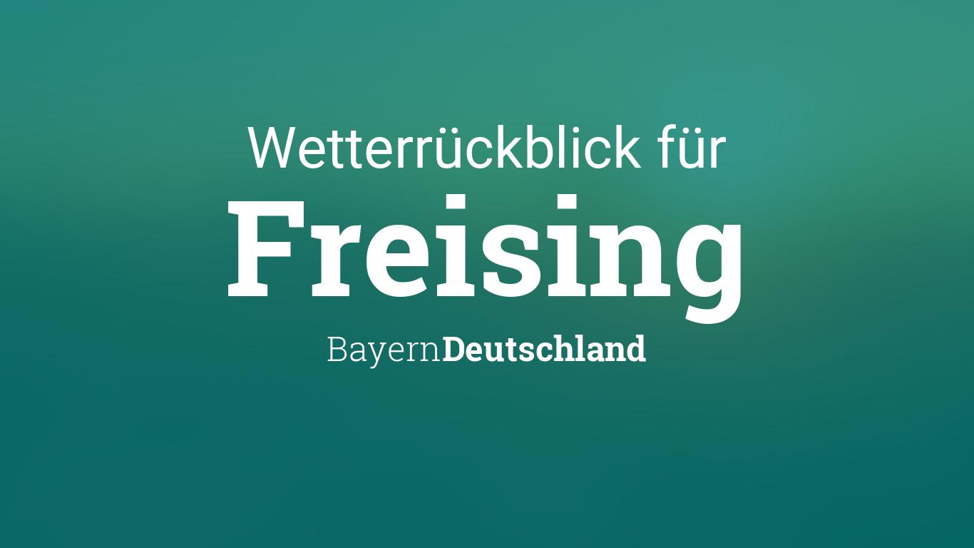 Freising Wetter 7 Tage