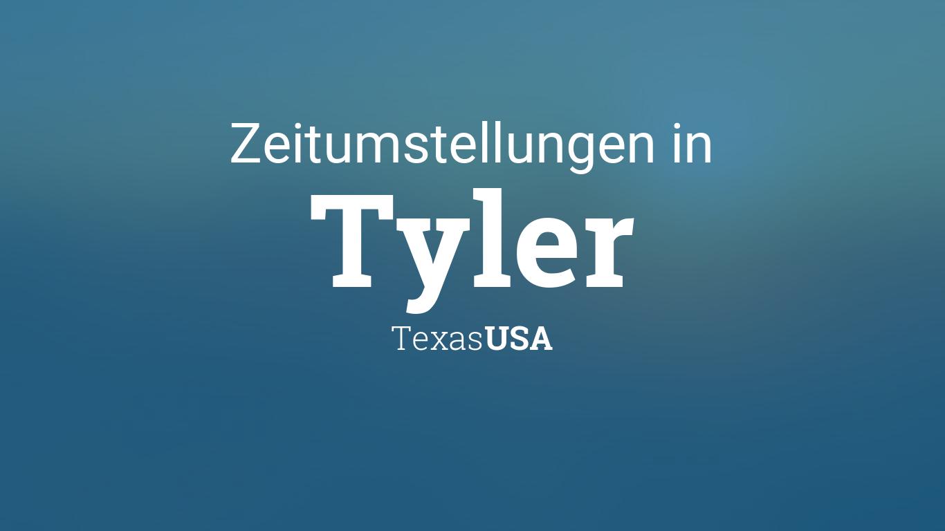 Zeitumstellung Texas