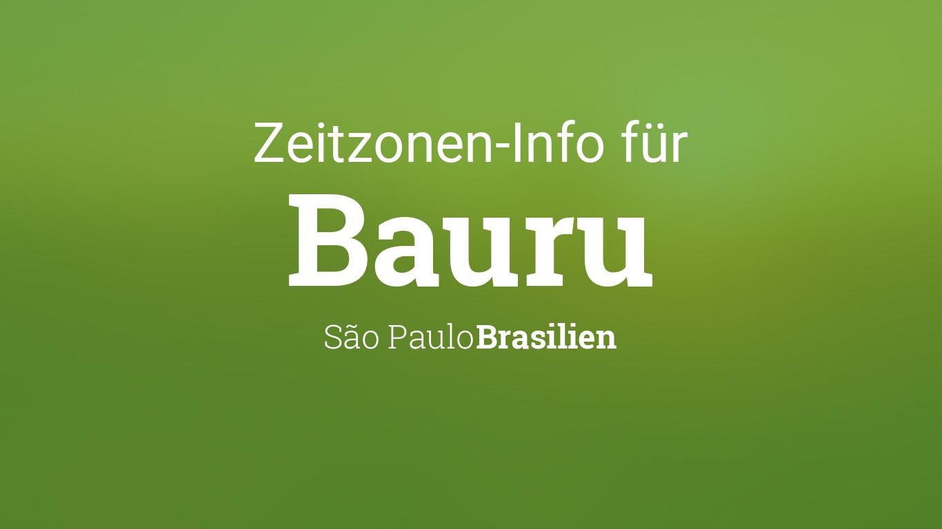 Zeitzone Sao Paulo