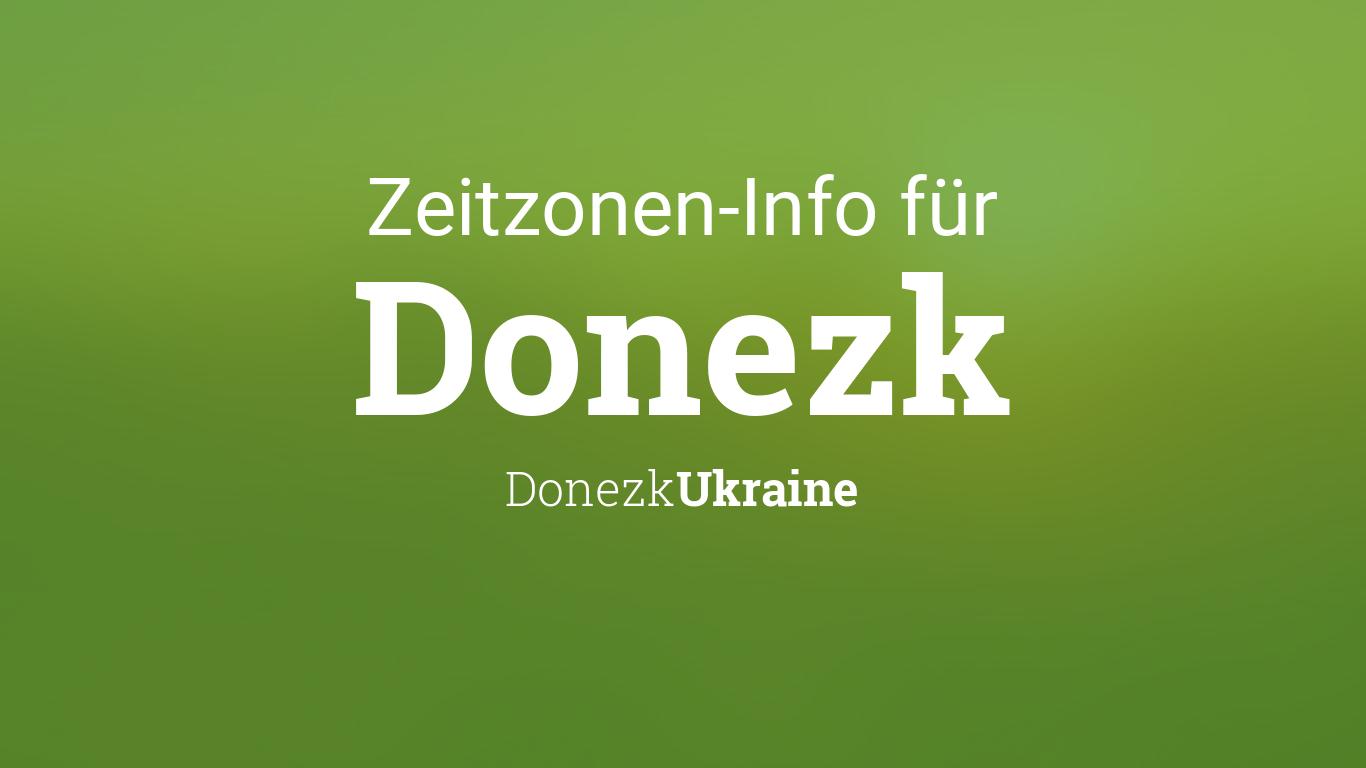 Zeitzone Ukraine