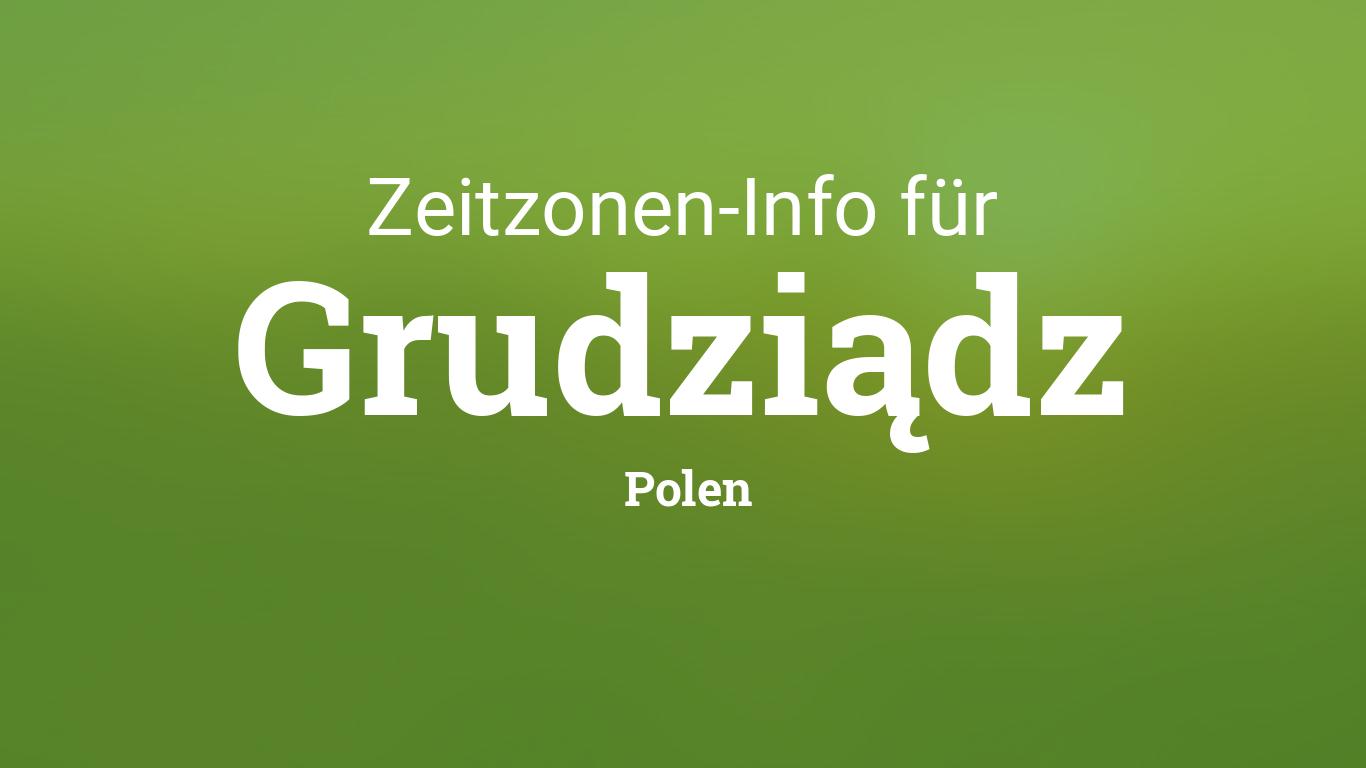 Polen Zeitzone