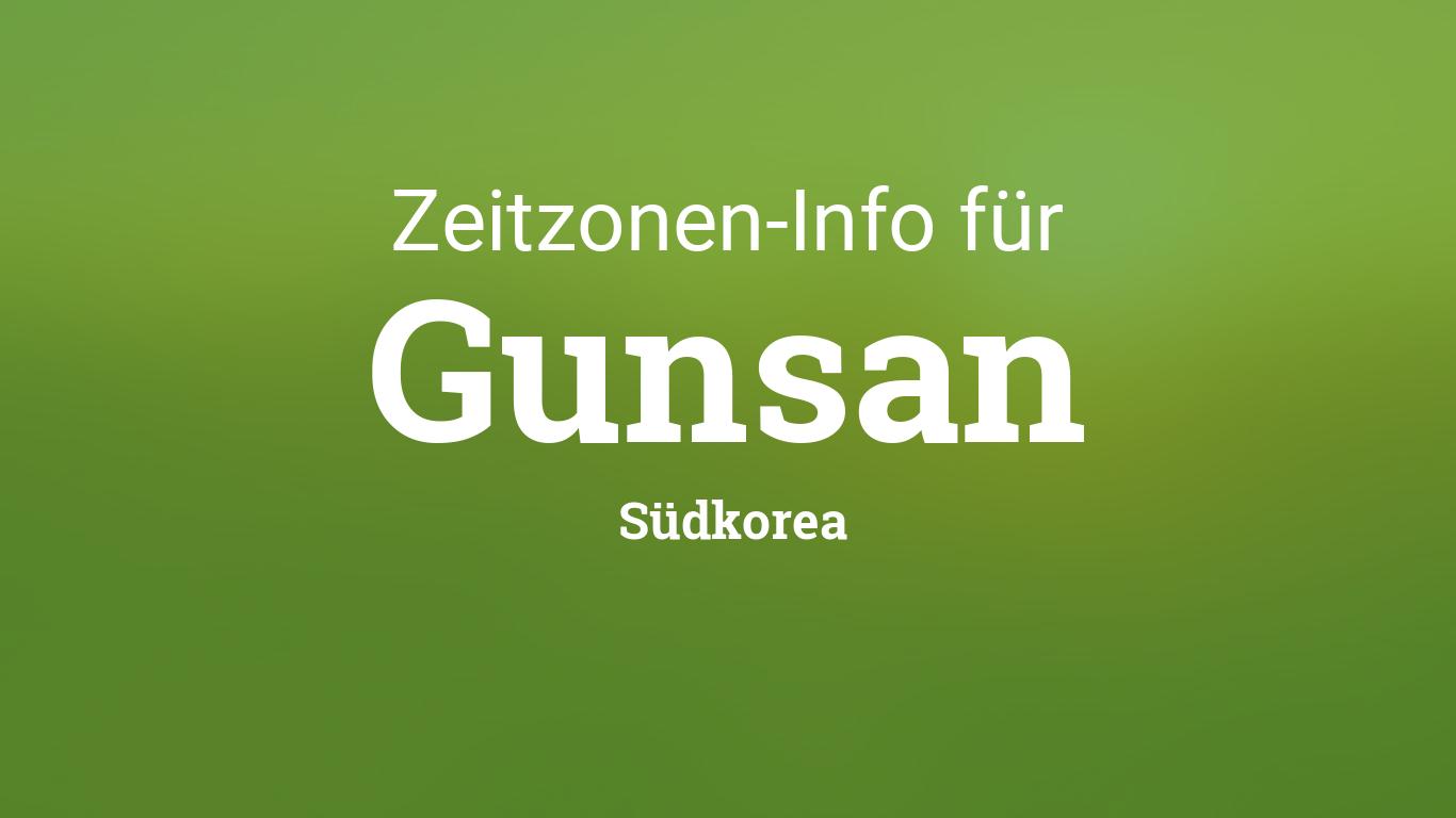 Südkorea Zeitzone