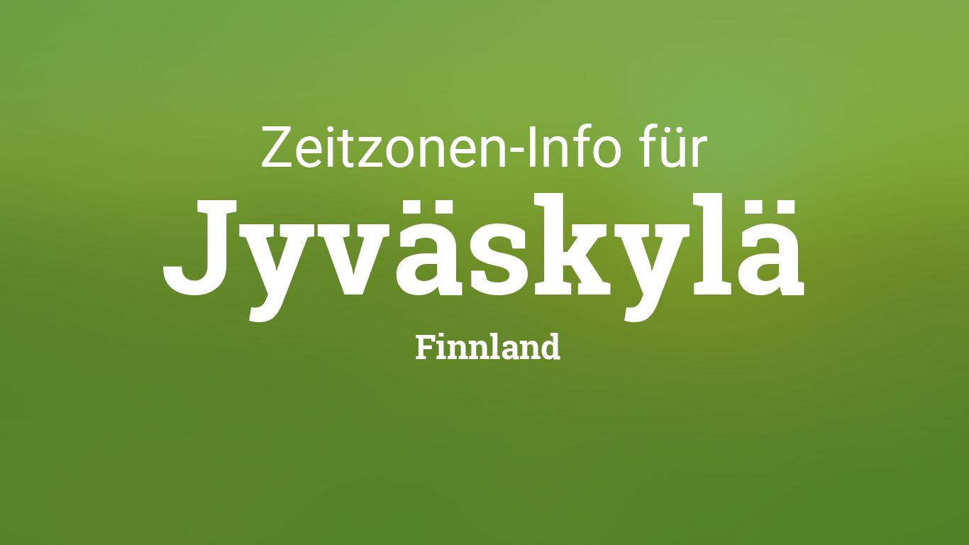 Zeitzone Finnland