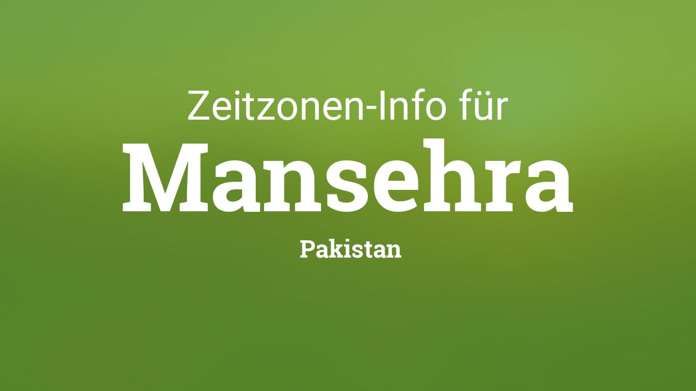 Zeitzone Pakistan