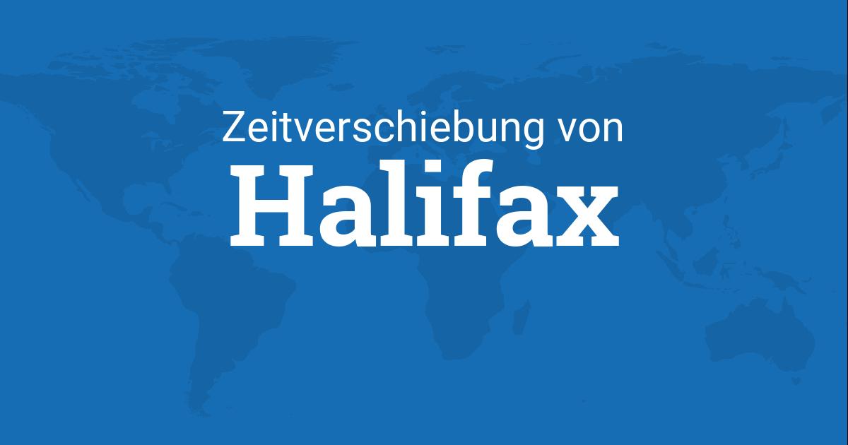 zeitverschiebung von halifax nova scotia kanada zu. Black Bedroom Furniture Sets. Home Design Ideas